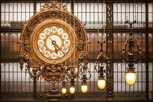 Orsay Museum Wall Clock