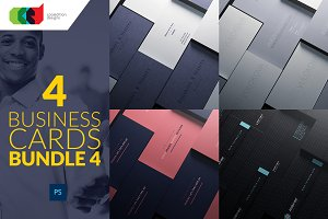 4 Business Cards Bundle 4