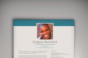 Dive CV/Resume