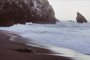 Atlantic coast. Portugal