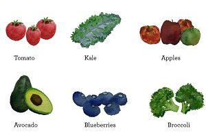 Super Fruits and Vegetables