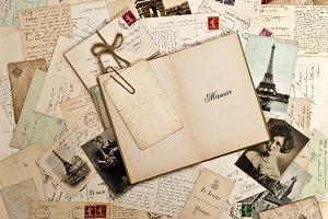 Vintage Letters and Photos