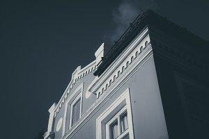Dark Monochrome House