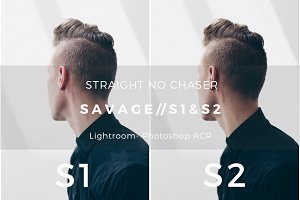 Savage Preset Bundle: S1 + S2 LR ACR