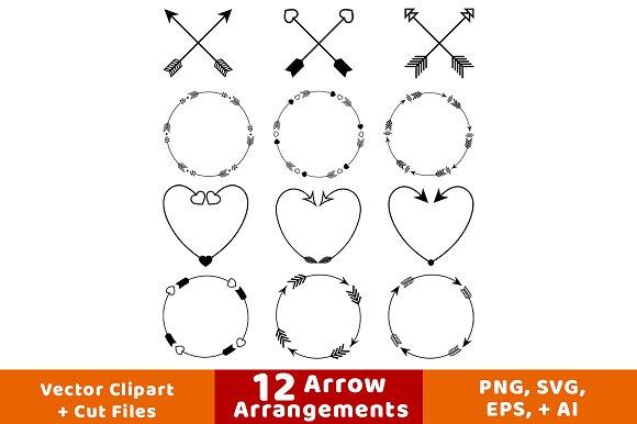 12 Arrow Arrangements