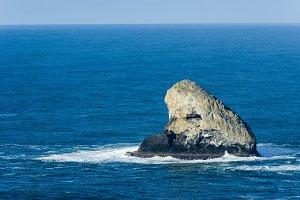 Pyramid Rock off Cape Meares Oregon