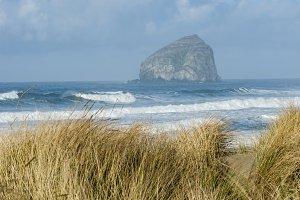 Chief Kiawanda Rock near Pacific City Oregon