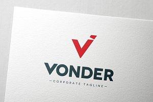 Vonder Corporate Logotype