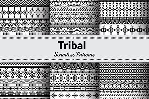 Tribal Vector Seamless Patterns