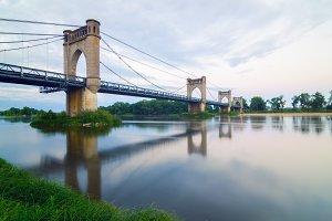 Langeais Bridge, Langeais, Loire Val