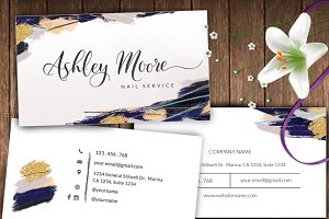 Abstract name card-id37