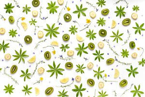 Fruit pattern.