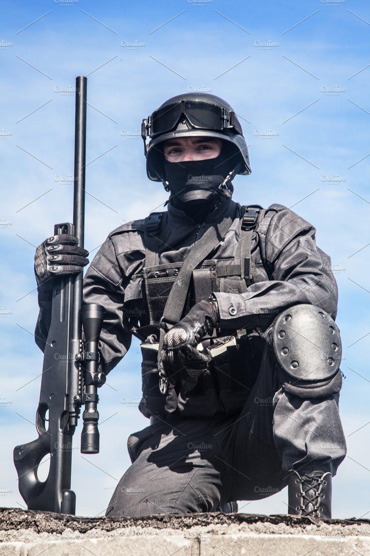 Swat Police Sniper People Images Creative Market