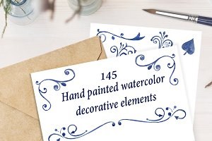 Elegant decorative elements