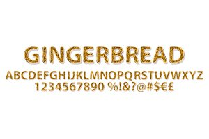 Gingerbread Alphabet sweet