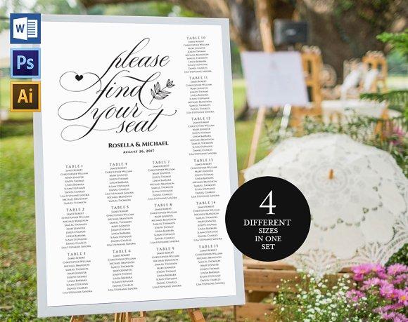 Wedding Seating Chart Wpc166