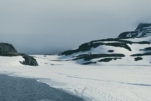 Snow from last Winter