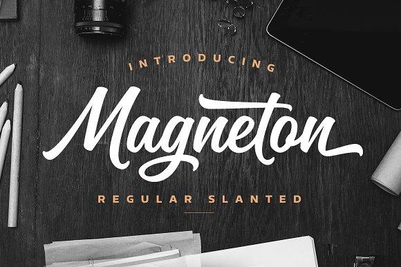Magneton Regular Slanted