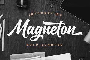 Magneton Bold Slanted