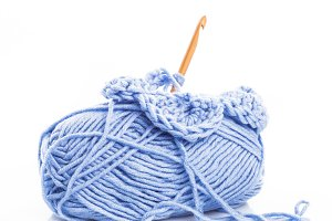 Crocheting isolated