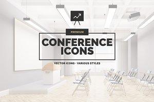 Premium »Conference« Icons