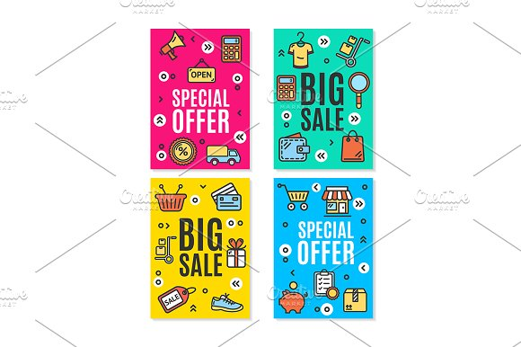 Sale Flyer Banner Posters