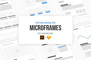 Microframes: Wireframing Kit