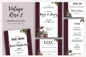 Vintage Rose 2 - Wedding Collection