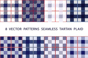 vector  PATTERNS  SEAMLESS  TARTAN