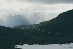 Last Winter Snow in Norway