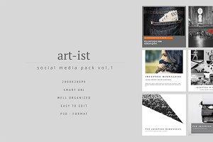 Art-ist Social Media Pack Vol.1