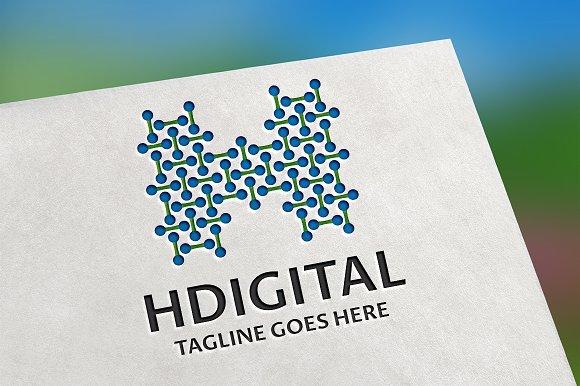 HDigital (Letter H) Logo
