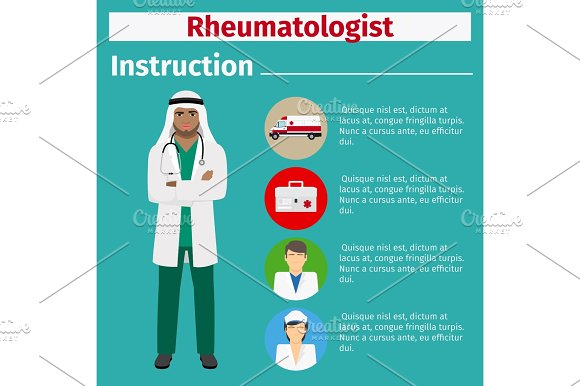 Medical Equipment Instruction For Rheumatologist
