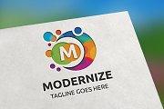 Modernize (Letter M) Logo