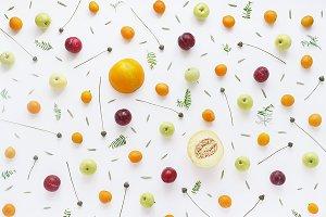 Fruity pattern.