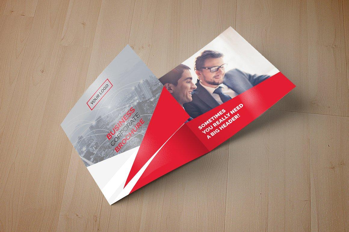 square trifold brochure brochure templates creative market