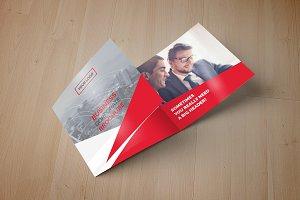 Square Trifold Brochure