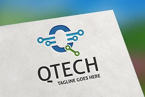 QTech (Letter Q) Logo