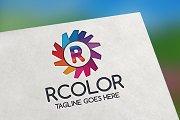 RColor (Letter R) Logo