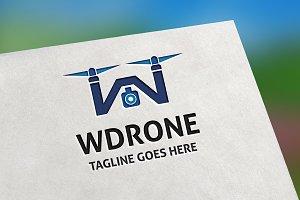 WDrone (W Letter) Logo