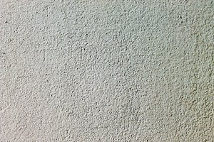 Stuccoed Wall Detail in White
