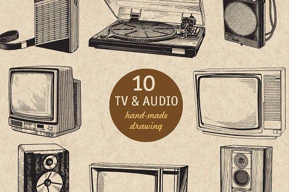 10 TV AUDIO