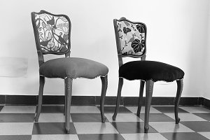 Vintage French Chairs