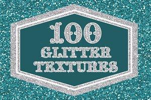 100 Hi Res Glitter Textures Bundle