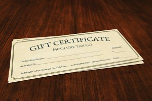 Gift Certificate - Classic