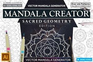Sacred Geometry Mandala Creator
