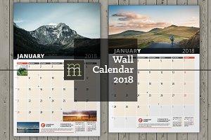Wall Calendar 2018 (WC033-18)