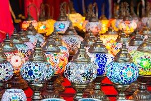 beautiful Arabian lamps