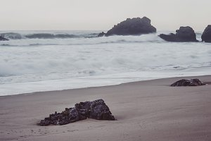 Atlantic coast.  Sintra, Portugal