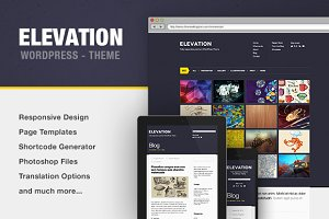 Elevation - Portfolio WP Theme